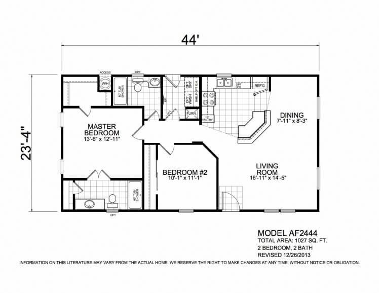 AF2444 Floorplan
