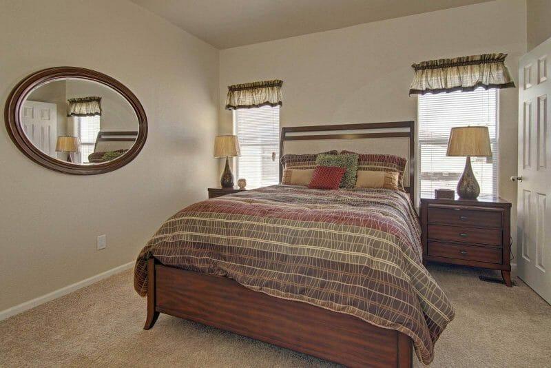 American Freedom 2444 master bedroom - 7