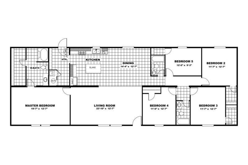 Triumph floor plan 2D