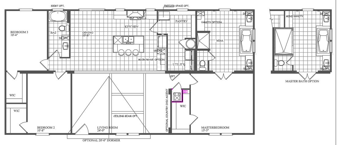 idalou floorplan - 1
