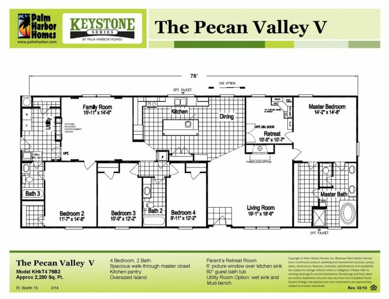 pecan valley floor plan color